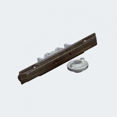 Crémone de verrouillage encastrée 23 mm