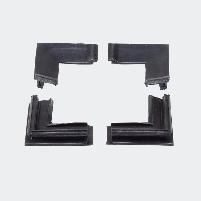 Set d'angles moulés joint d'étanchéité central